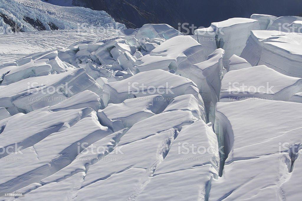 Breaking glacier royalty-free stock photo