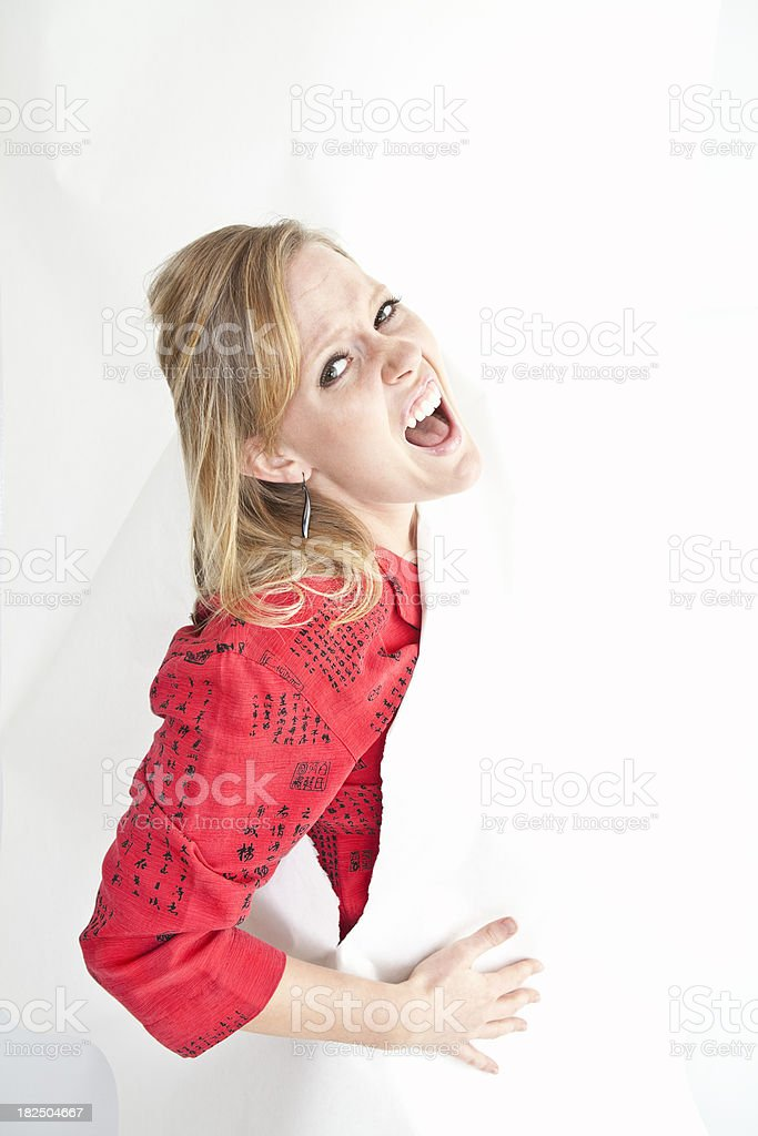 Breaking Out stock photo