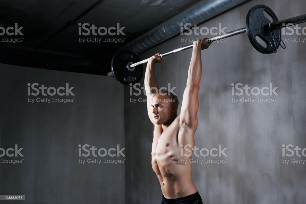 breaking through his limit stock photo 498335077 | istock,