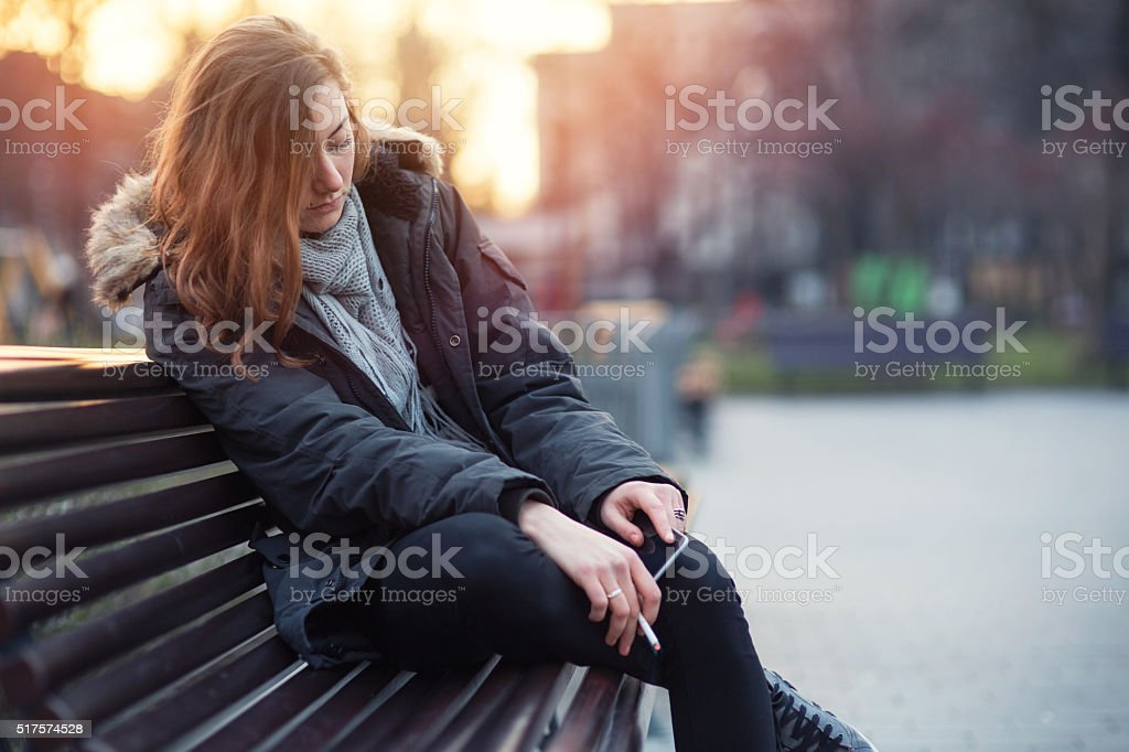 Breaking up stock photo