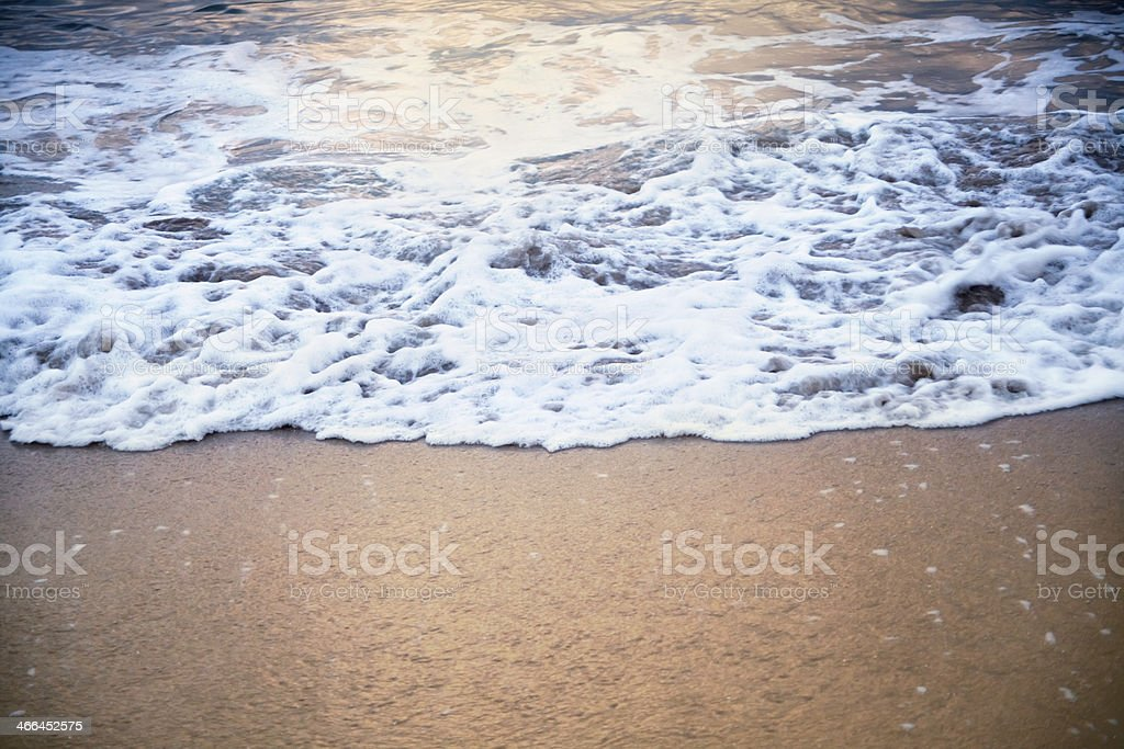 Breaking wave stock photo