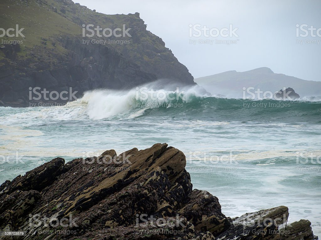 Breaking Wave royalty-free stock photo