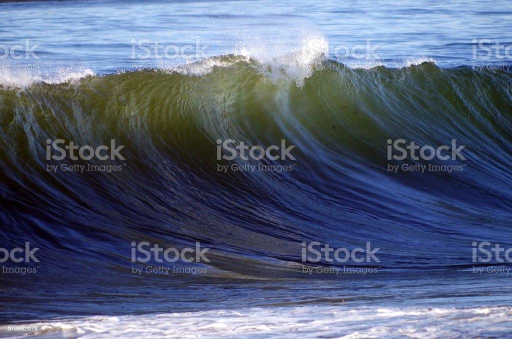 Breakinng Wave stock photo