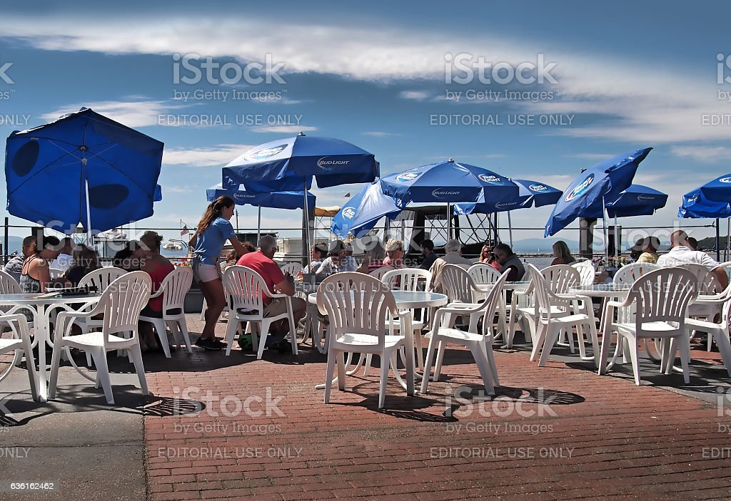 Breakwater Cafe and Grill stock photo