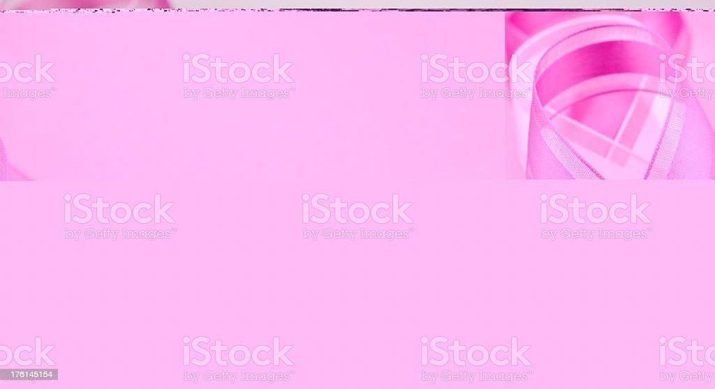 Breast Cancer Awareness Ribbon royalty-free stock photo