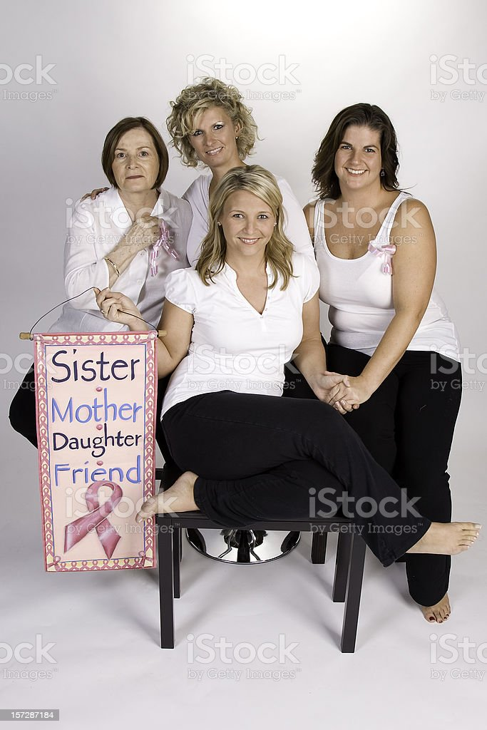 Breast Cancer Bond royalty-free stock photo