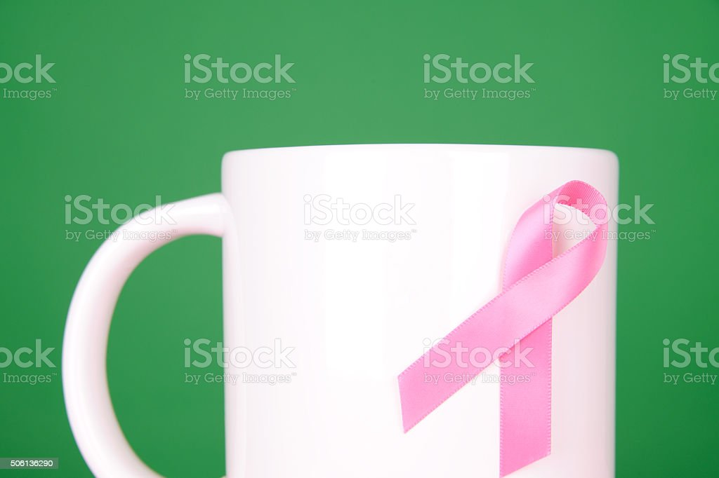Breast Cancer Fundraising stock photo