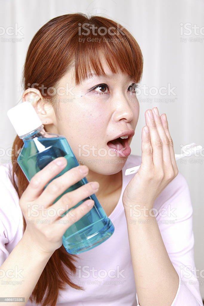 breath care stock photo