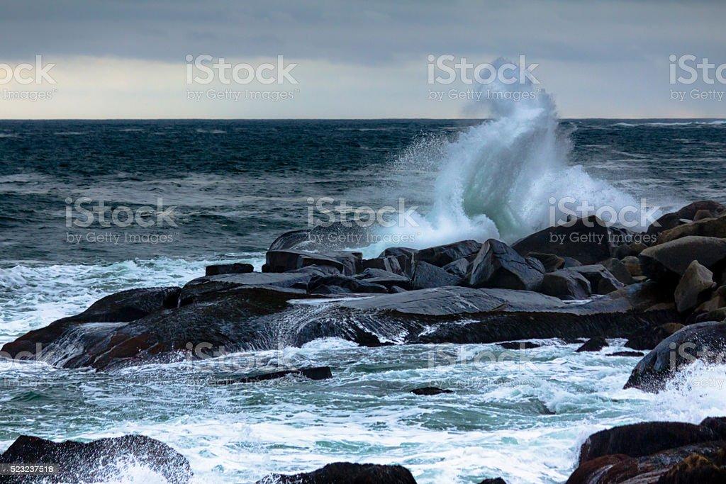 Breath of the Ocean stock photo