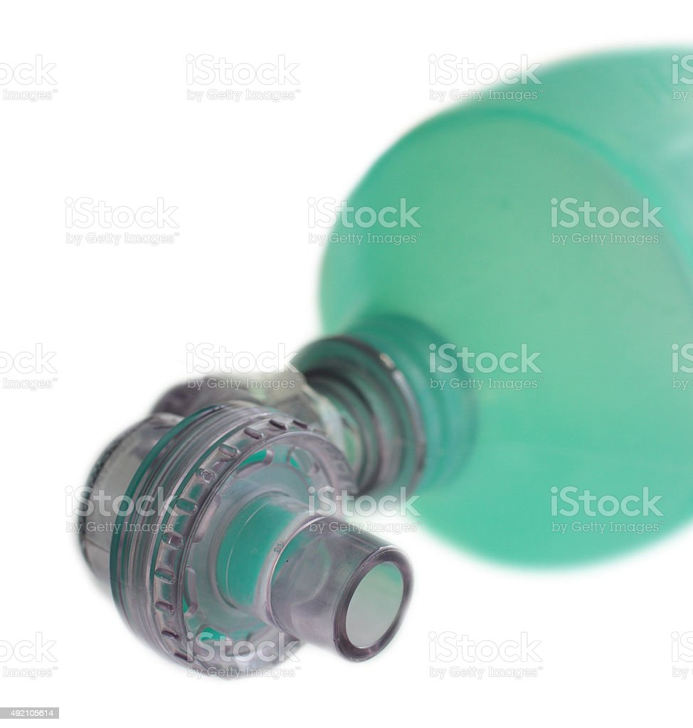 Breathing Device Isolated On A White Background stock photo