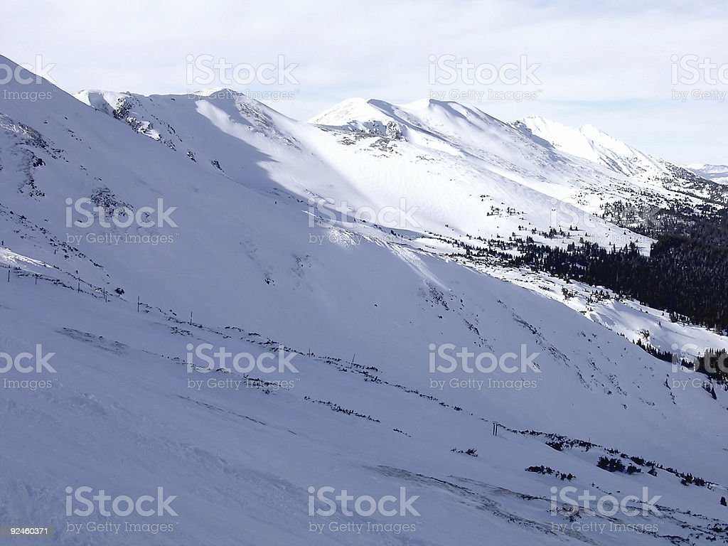 Breck Peak View stock photo