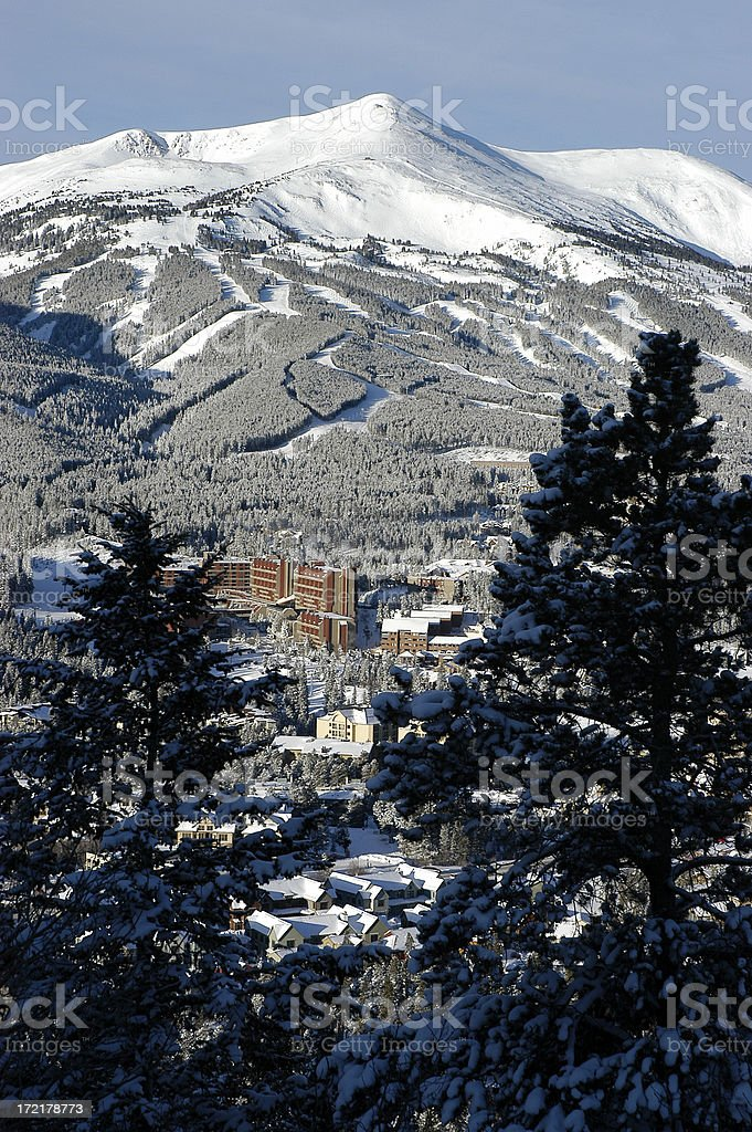 Breckenridge, Colorado royalty-free stock photo
