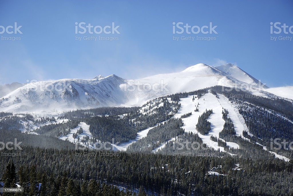 'Breckenridge, Colorado' stock photo