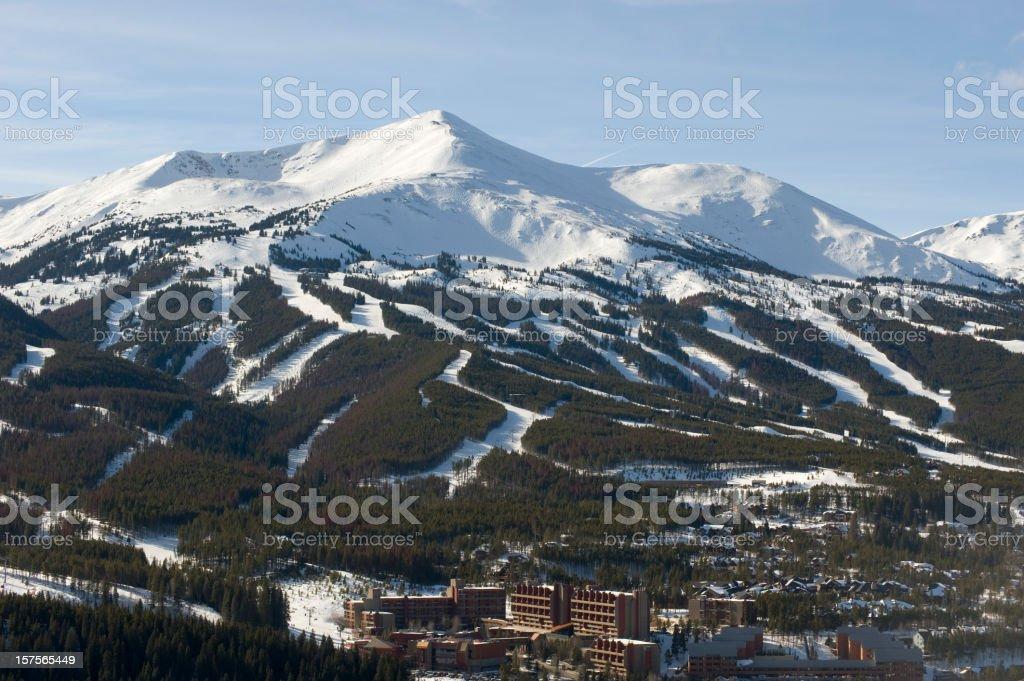 Breckenridge Ski Resort stock photo