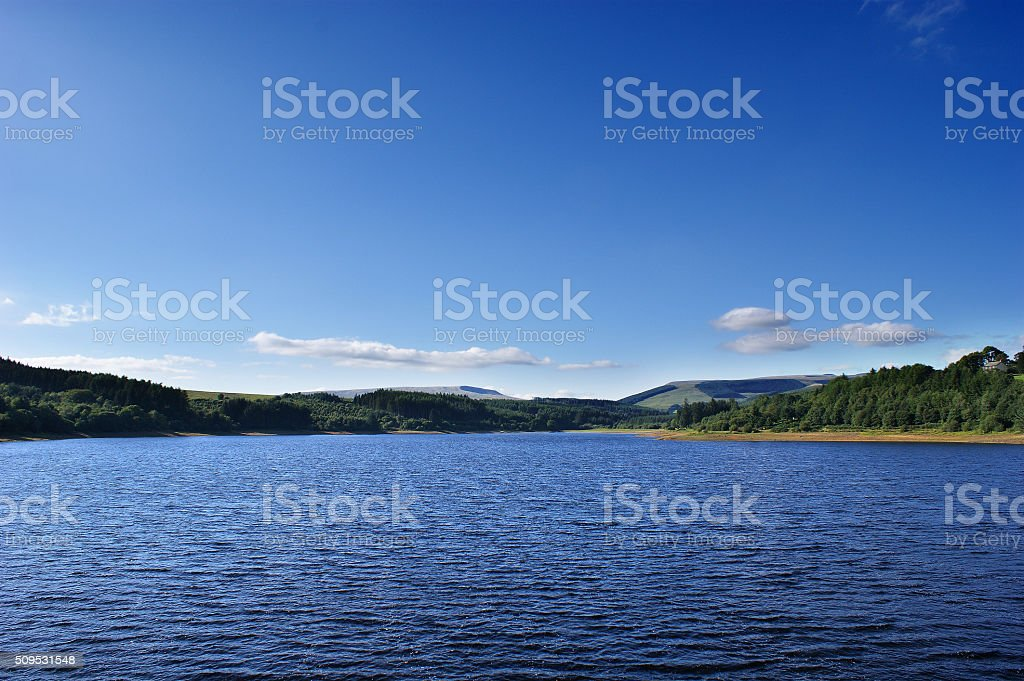 Brecon Beacons, Llwyn-on Reservoir stock photo