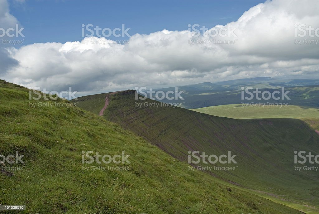 Brecon Beacons royalty-free stock photo