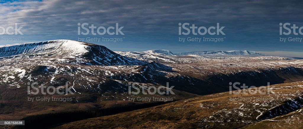 Brecon Beacons stock photo