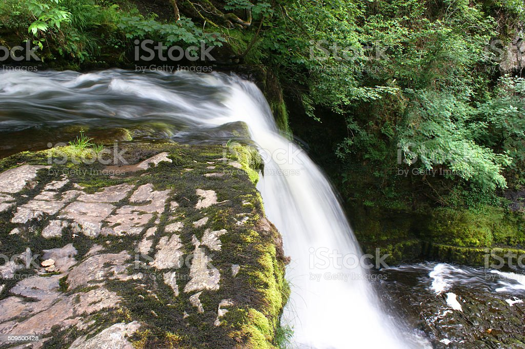 Brecon Beacons, Sgwd Clun-Gwyn 03 stock photo