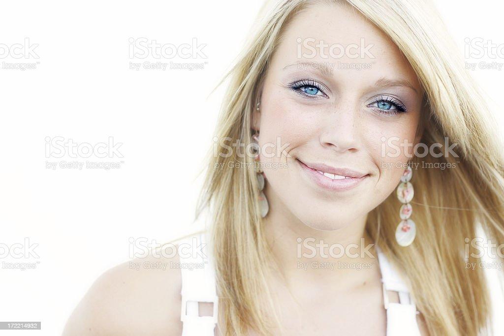 Breezy Woman royalty-free stock photo