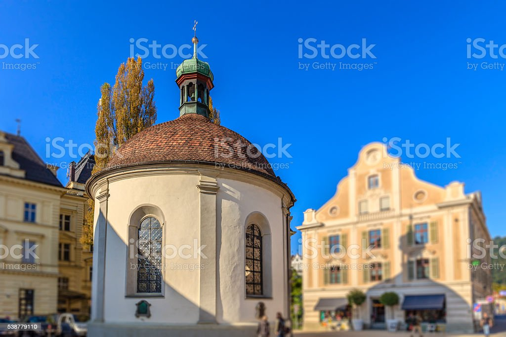 Bregenz, Nepomukkapelle - Austria stock photo