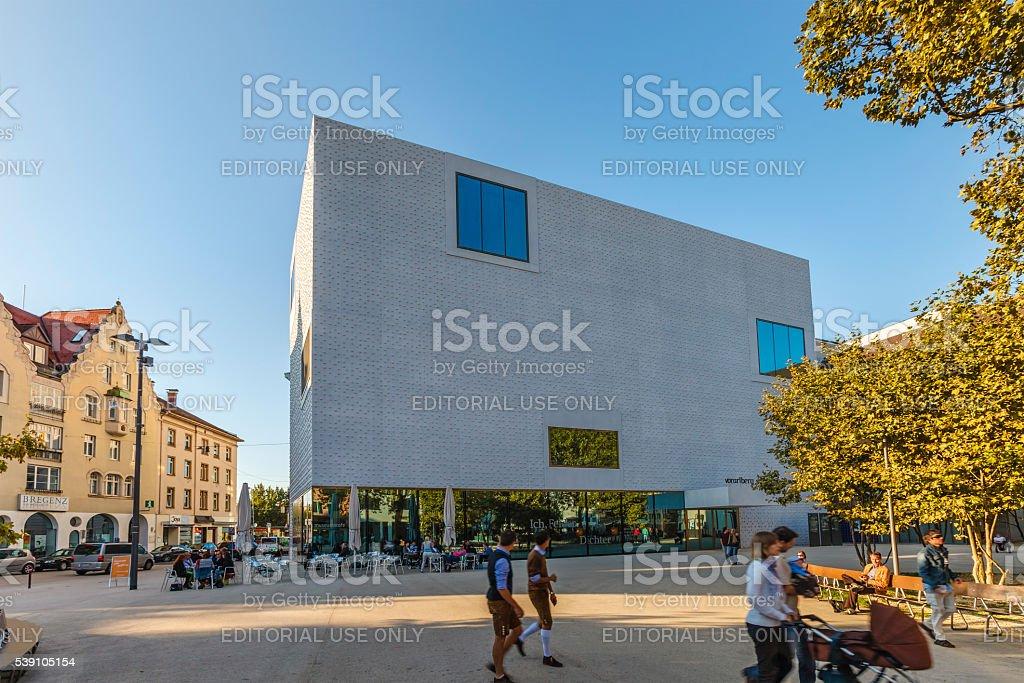Bregenz, Vorarlberg Museum - Austria stock photo