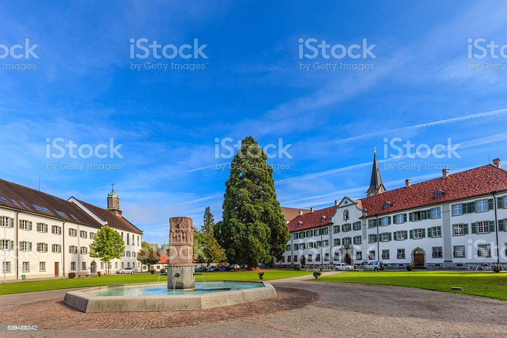 Bregenz, Wettingen-Mehrerau Abbey - Austria stock photo