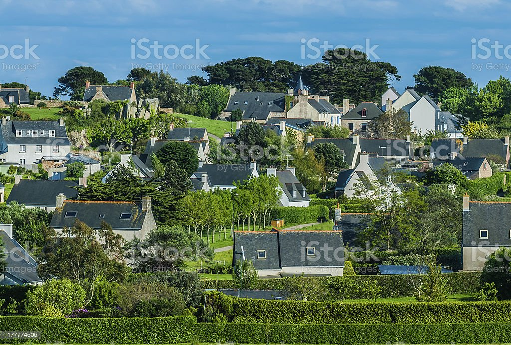 Brehat island france royalty-free stock photo