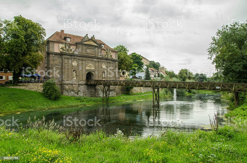 Breisach am Rhein stock photo