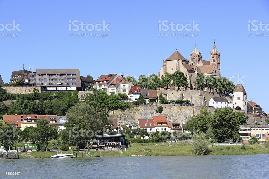 Breisach in Germany stock photo