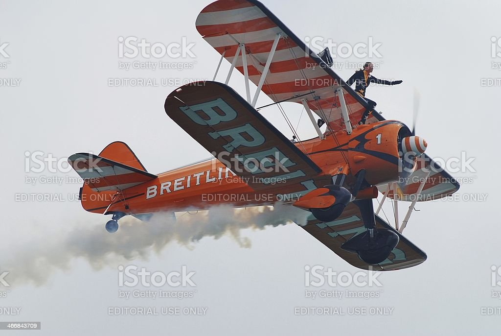 Breitling Wing Walkers stock photo
