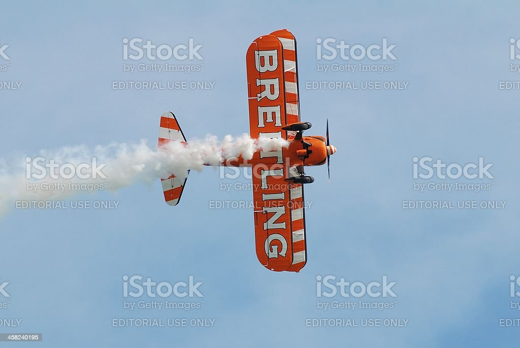 Breitling Wingwalkers, Eastbourne royalty-free stock photo