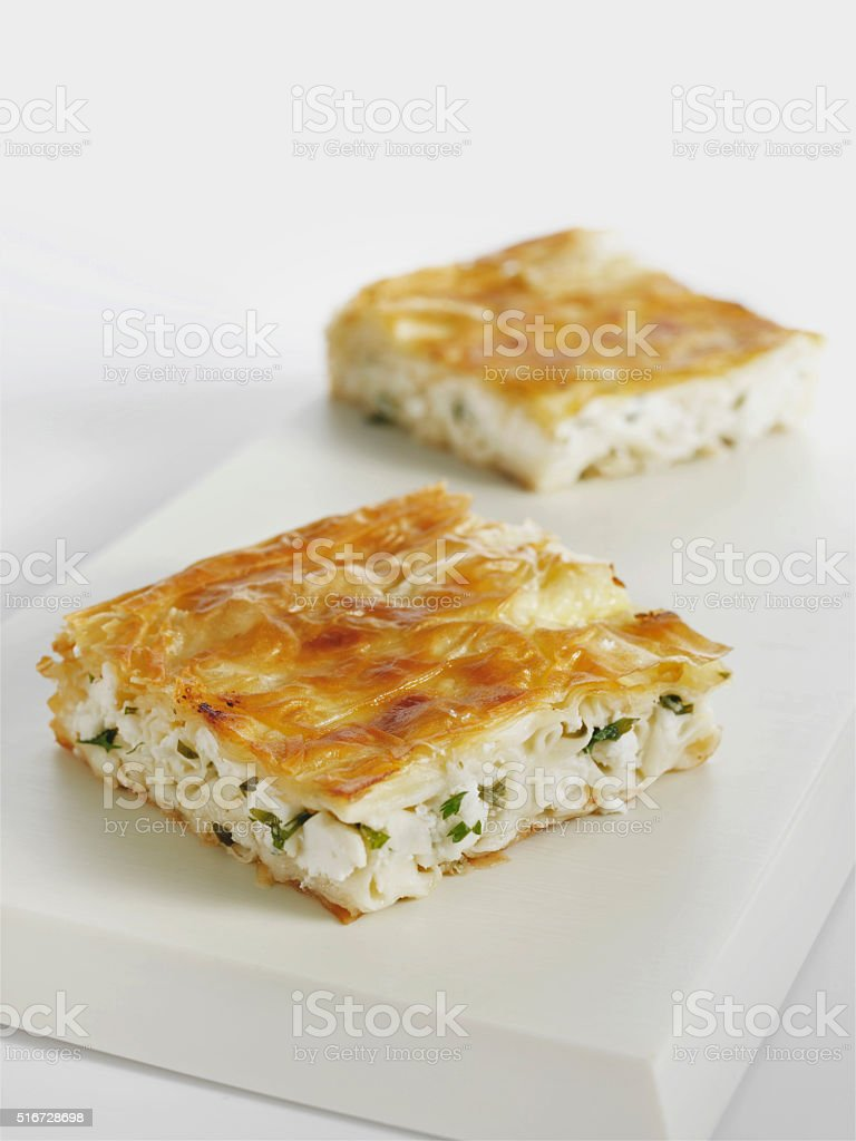 börek stock photo