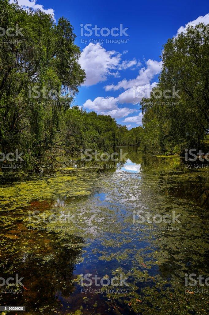 Bremmer River stock photo