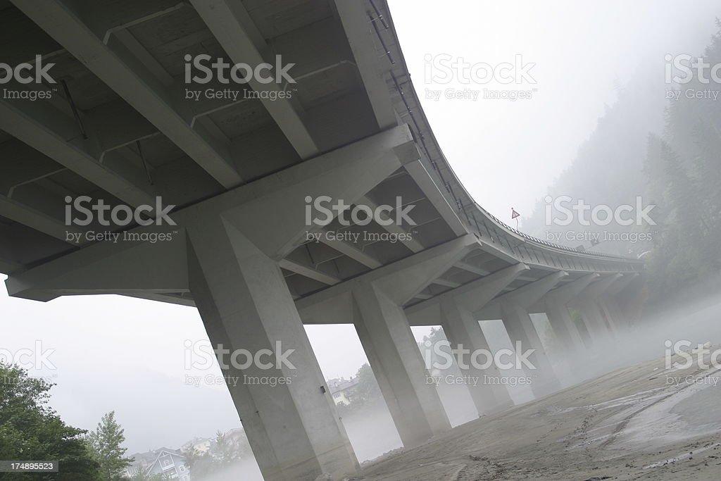 Brenner Autobahn royalty-free stock photo