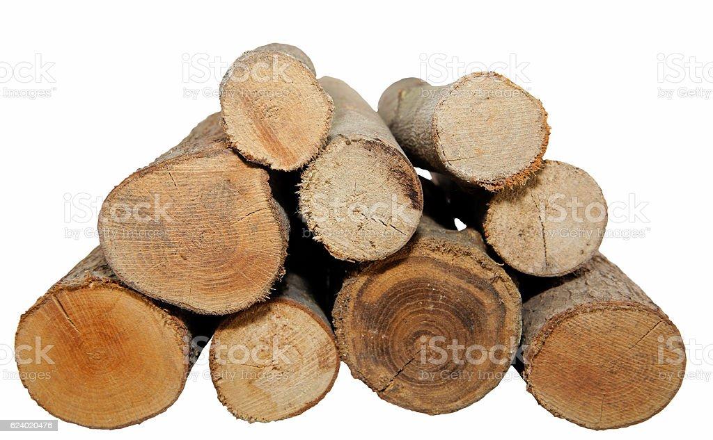 Brennholz stock photo