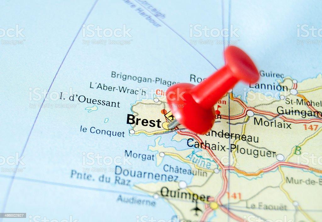 Brest stock photo