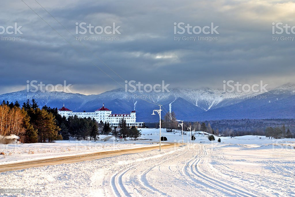 Bretton Woods, New Hampshire royalty-free stock photo