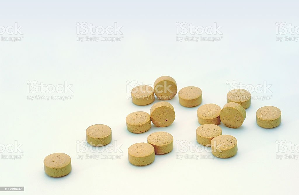 Brewer's yeast stock photo