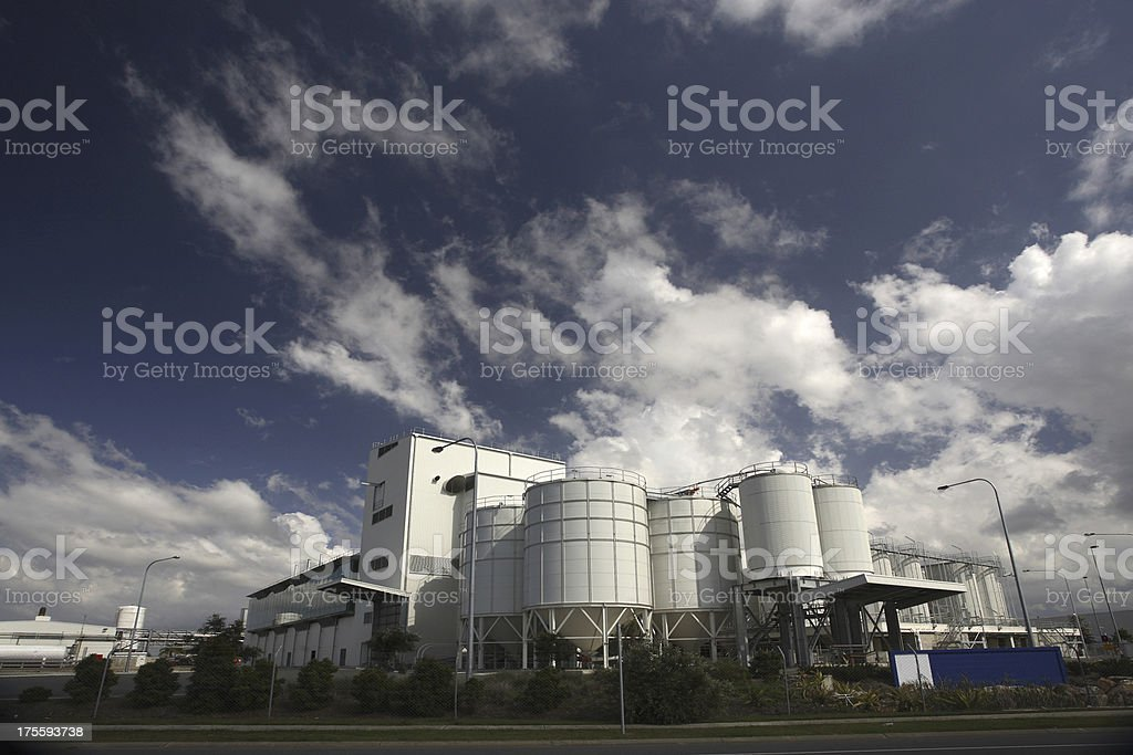 Brewery Building royalty-free stock photo