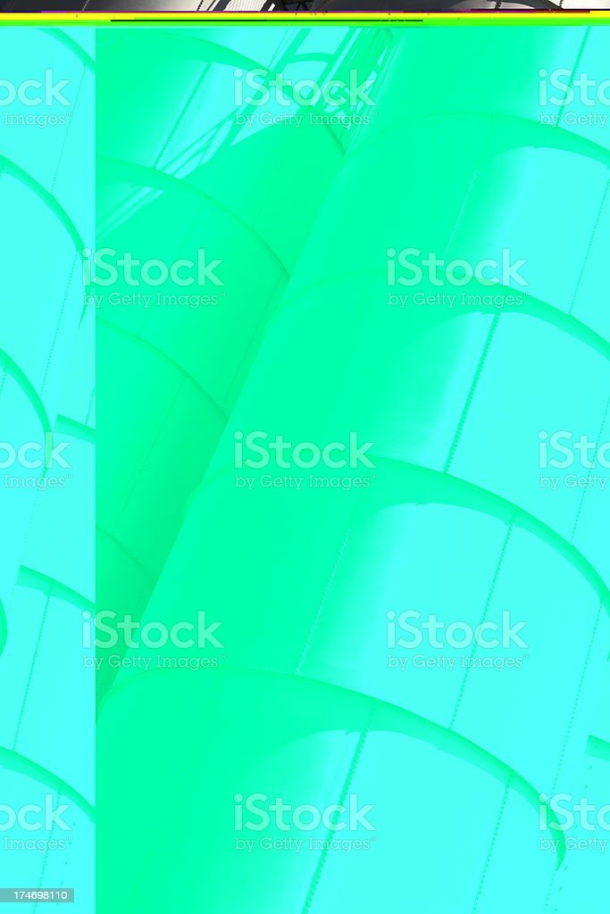Brewery Storage Tank Factory Building royalty-free stock photo