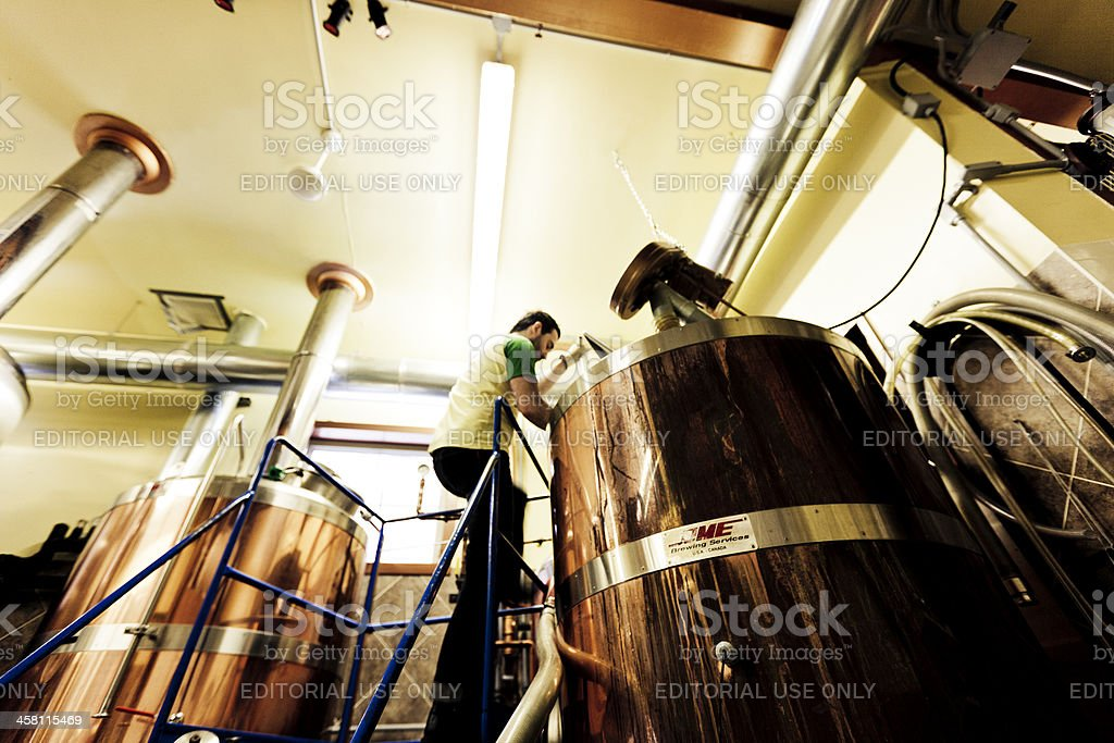 Brewing stock photo