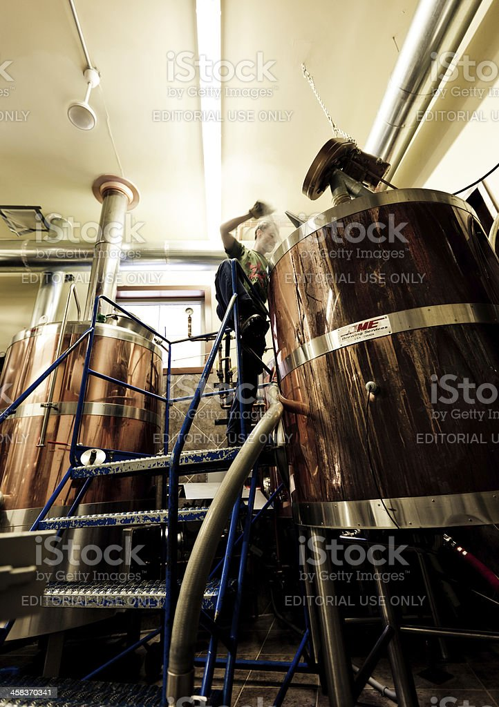 Brewing stock photo