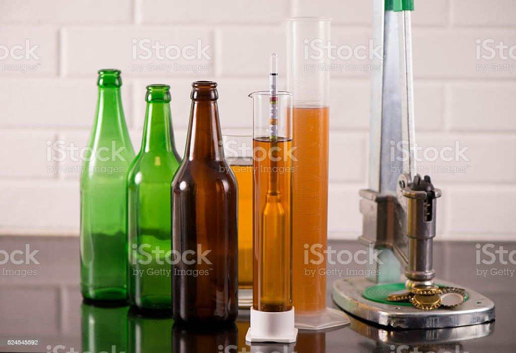 Brewing. stock photo