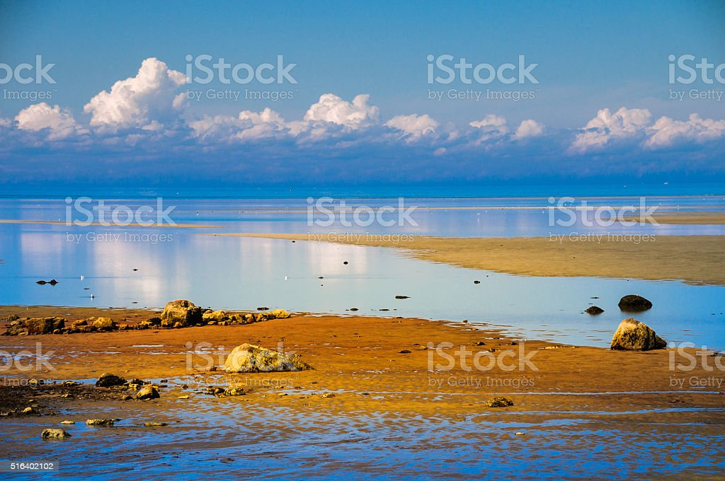 Brewster Tidal Flats stock photo