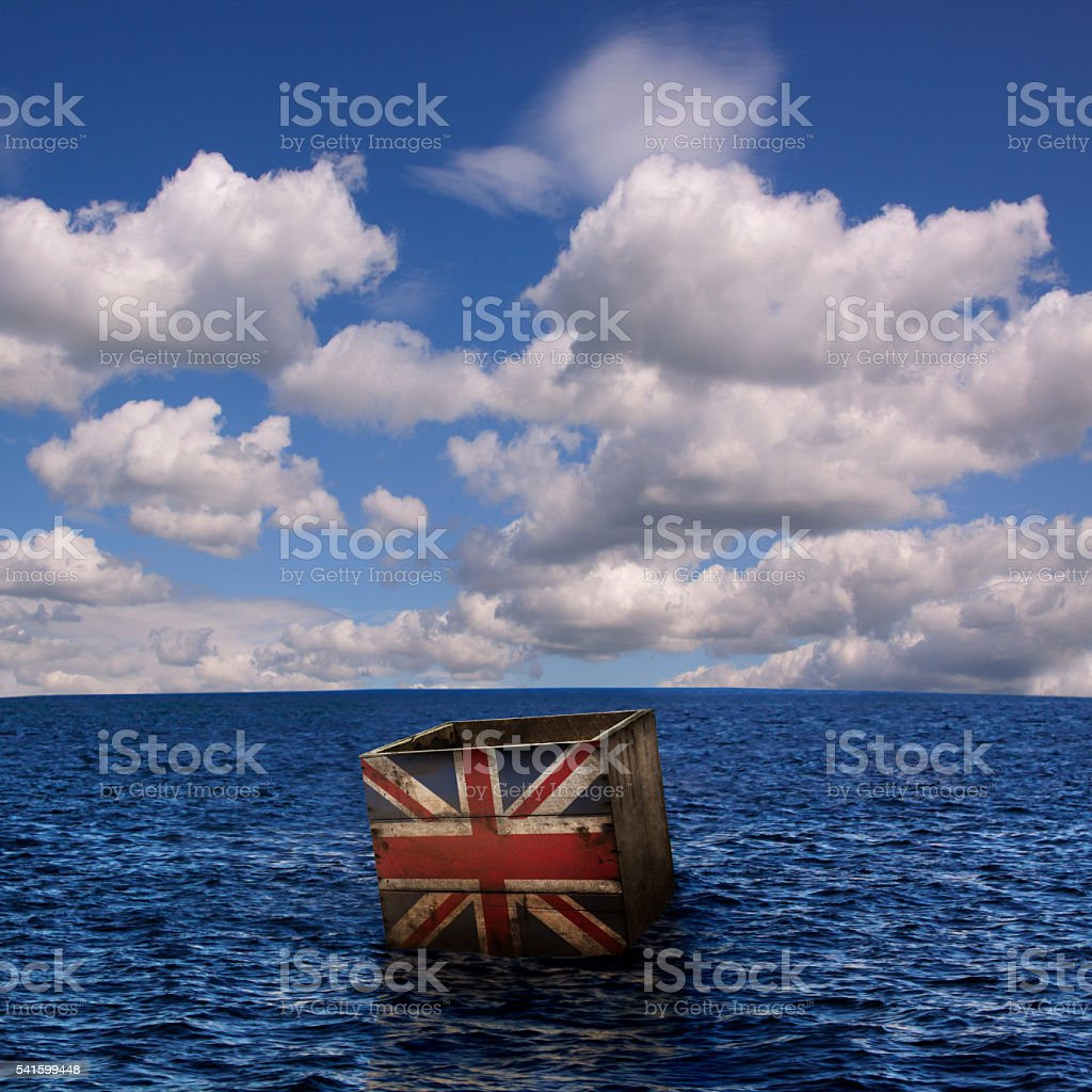 Brexit Box stock photo