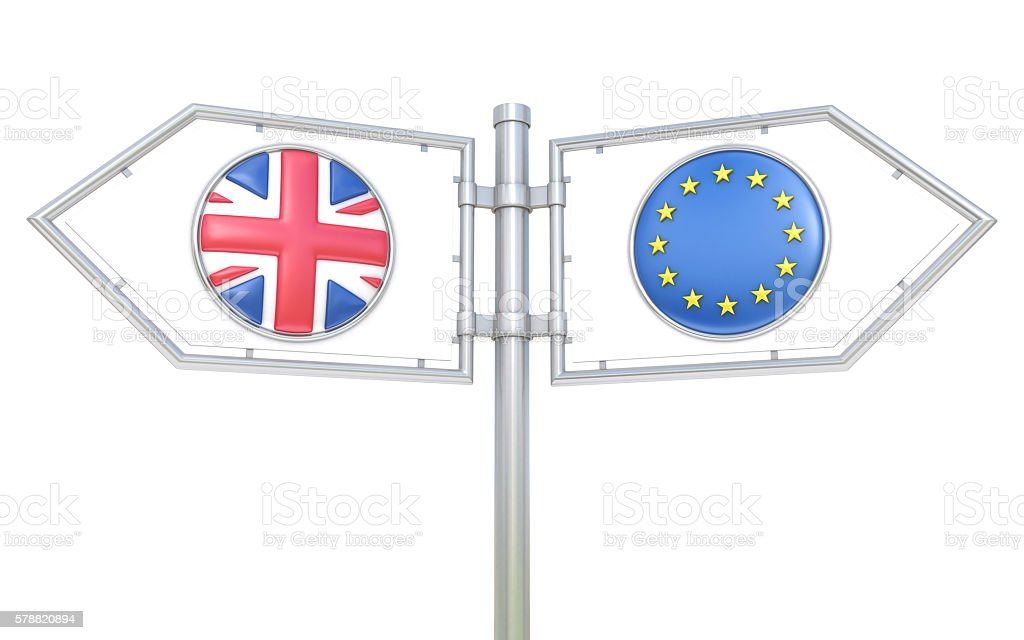 Brexit choice stock photo
