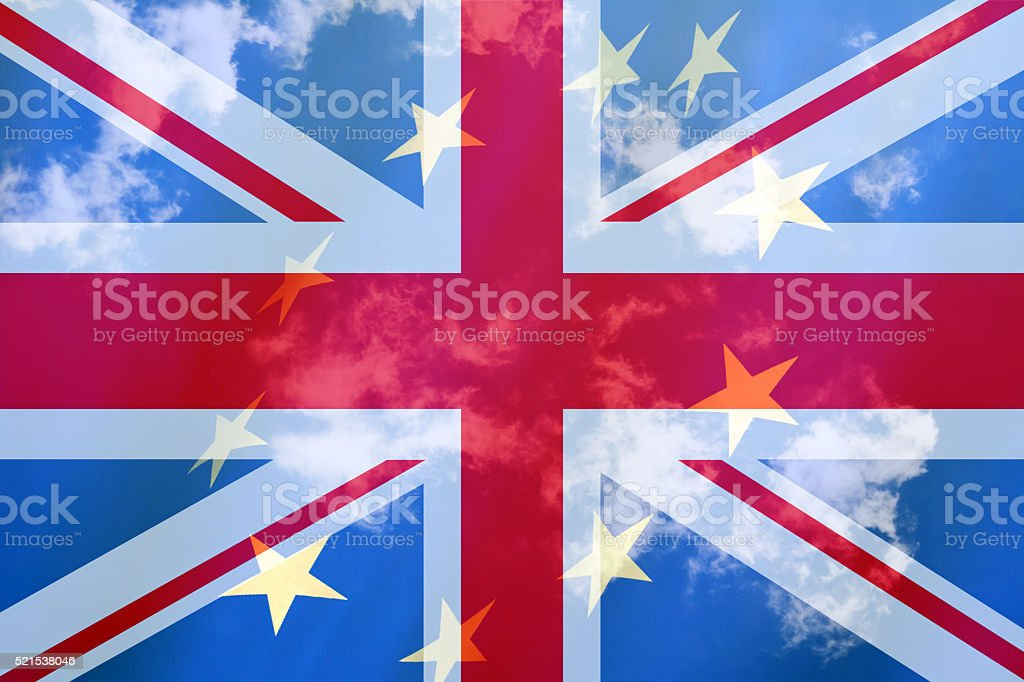 Brexit cloudsky stock photo