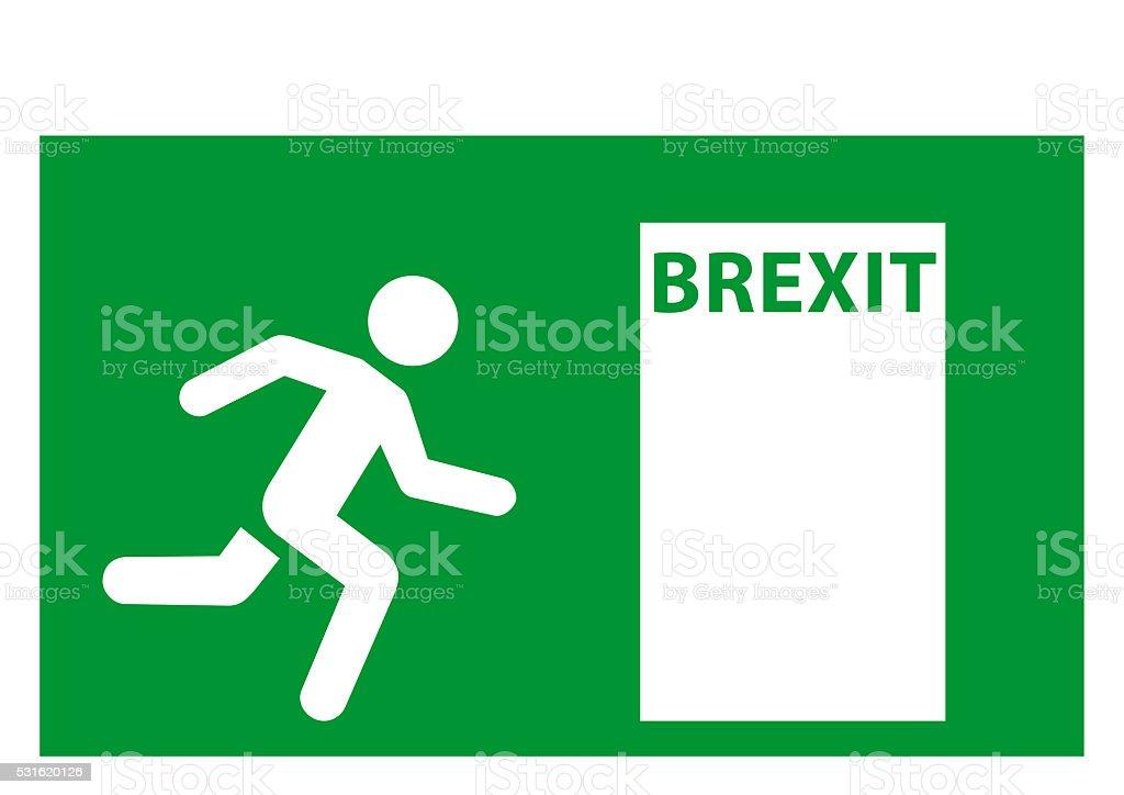 Brexit emergency EU stock photo