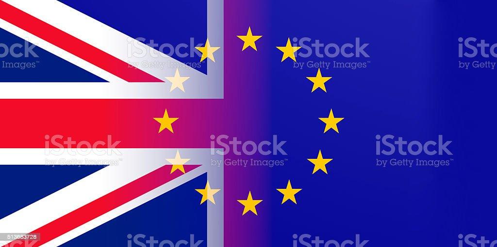 Brexit illustration stock photo