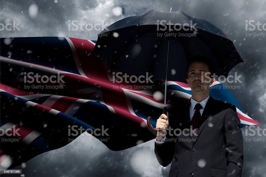 UK brexit stock photo